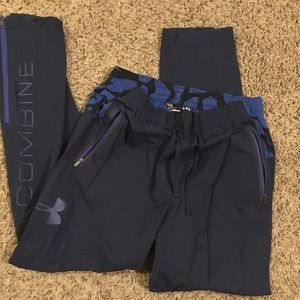 Under armor athletic pants!